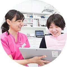 患者様の健康創造のパートナー